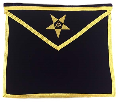 Eastern Star Patron Apron w Cord & Tassel - only one