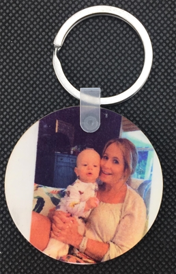 Picture Keychain - Circle