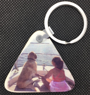 Picture Keychain - Triangle
