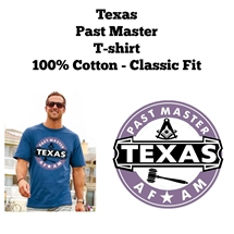 Texas Past Master T-shirt