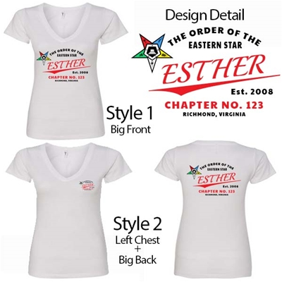OES Chapter T-shirt Design