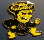 Whichita Shocker Master Mason Pin