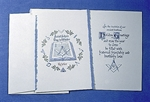 Saint Johns Day In Winter,Christmas cards.Box of 20.