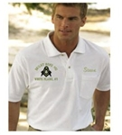 Mississippi Blue Lodge Golf Shirt with  Pocket