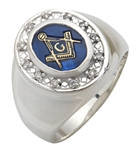 Masonic Ring - 10006 - Sterling Silver