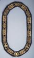 Masonic Grand Lodge Chain Collar with purple lining