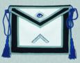 Masonic Officer Apron and Collar Set - Leather