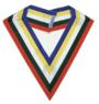 OES Patron 5 color ribbon collar