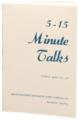 5-15 Minute Talks