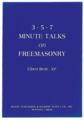 3-5-7 Minute Talks on Freemasonry