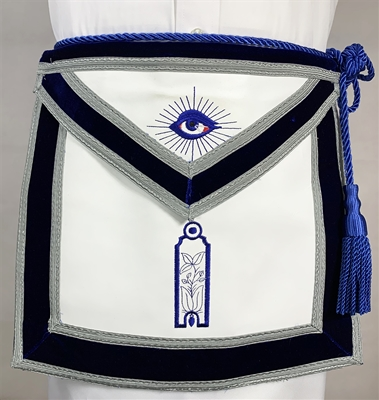Leather Velvet Jr. Warden Officer apron - Roadshow