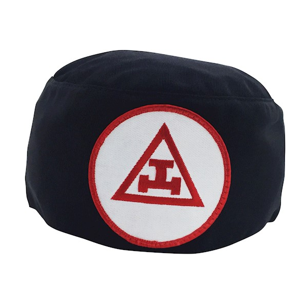 Royal Arch Skull Cap Black