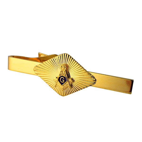 Masonic Tie Bar in gold tone