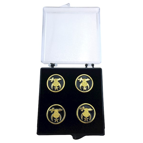Shrine Button Covers - Set of 5