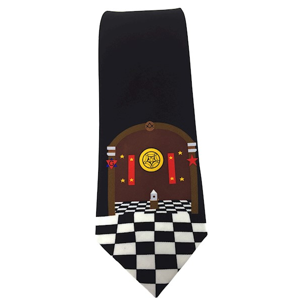 Masonic Tie - King Solomon's Temple
