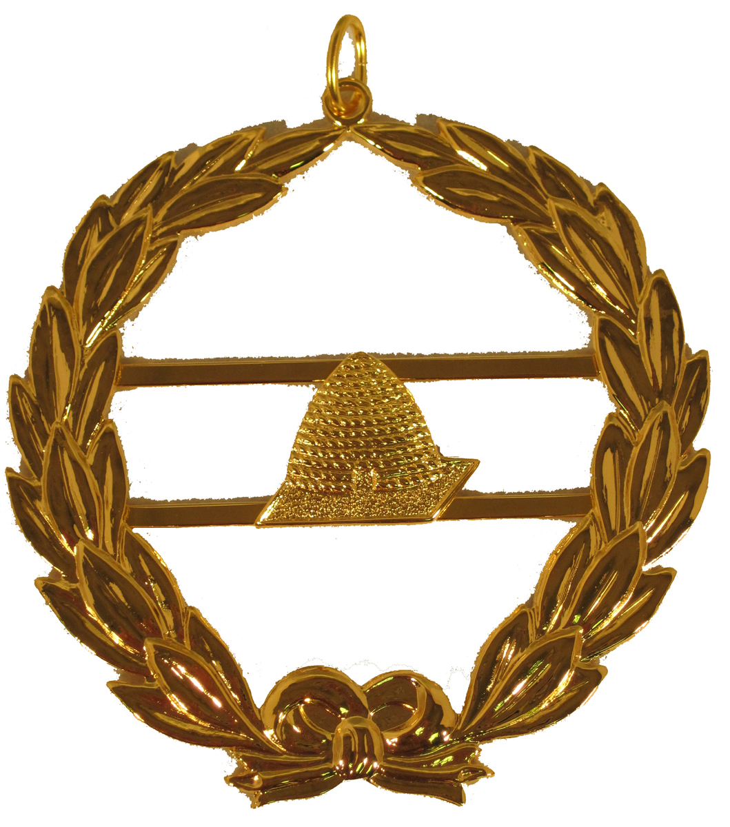 Grand Lodge Officer Jewel -  Beehive
