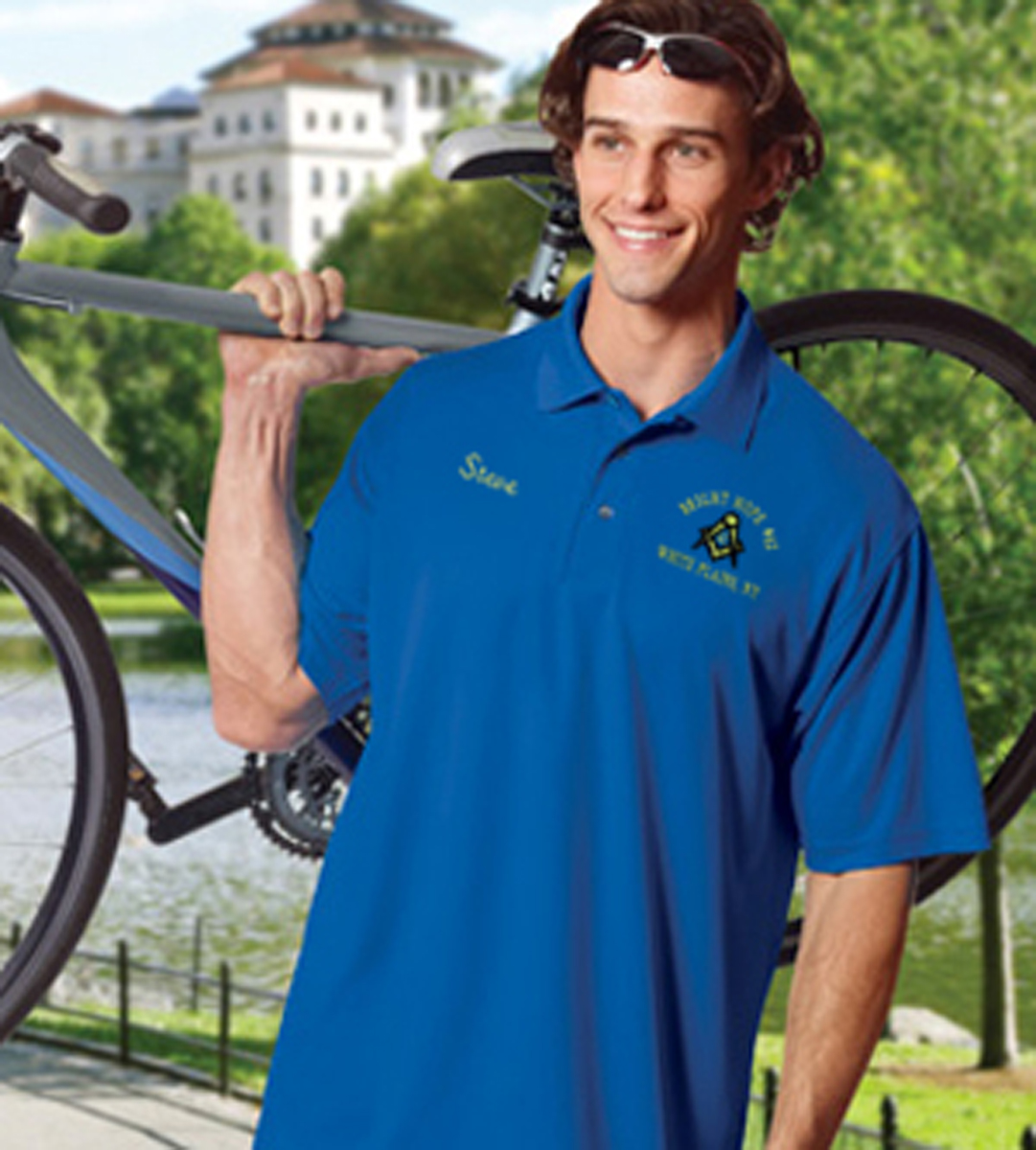 Performance Mesh Lodge Polo