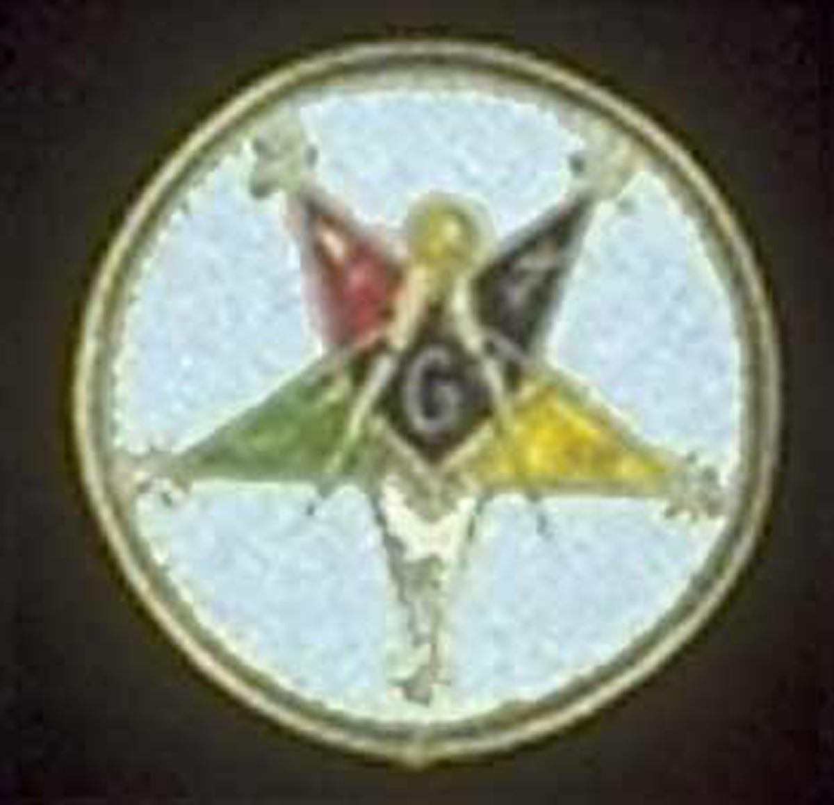OES Past Patron Round Patch