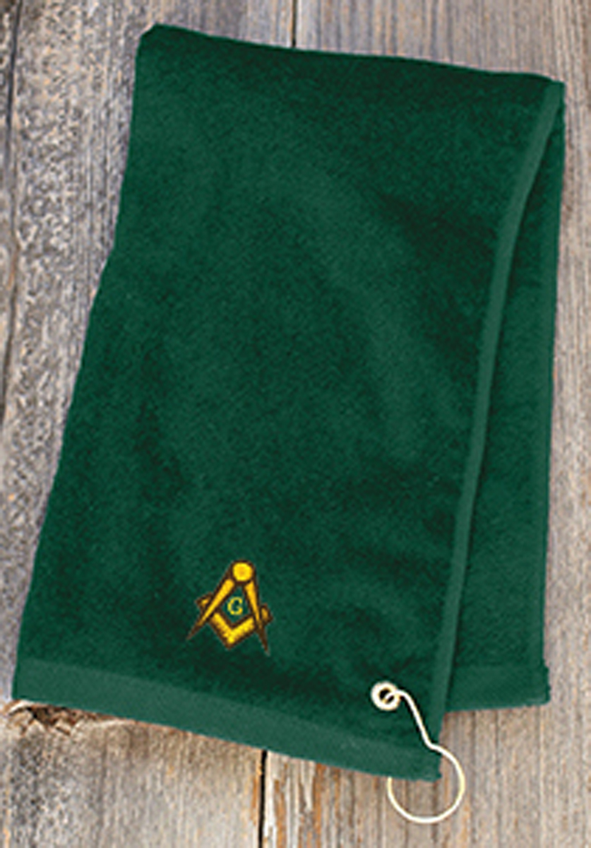 Golf Towel with emblem
