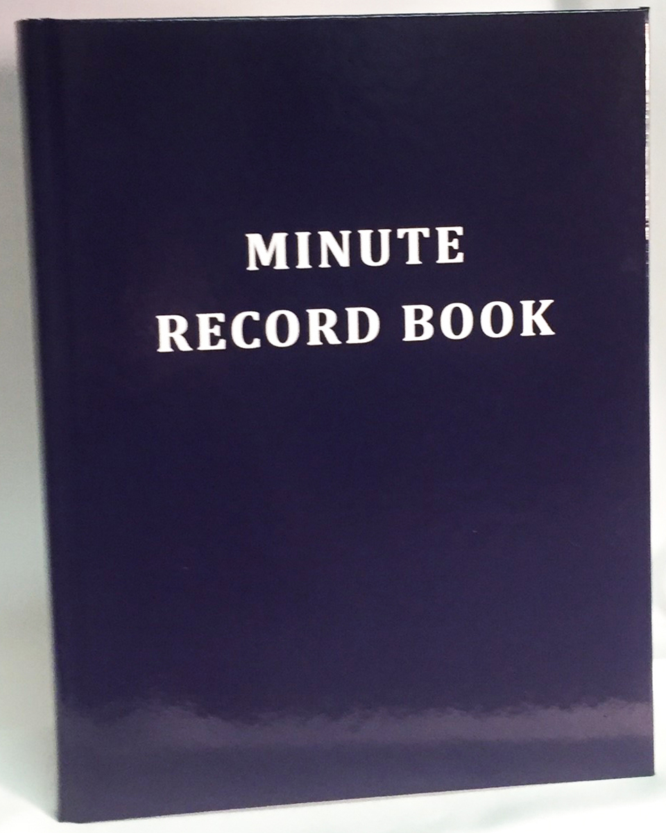 Masonic Minute - Record Book 200 Pages
