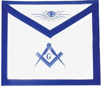 Master Mason Apron - Leather