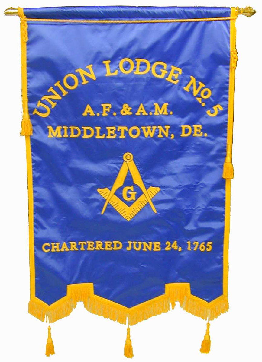 Masonic Banner with Emblem only