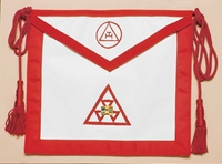Leather New Jersey Regulation R.A.M. Past High Priest Apron