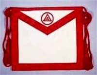 Leather Royal Arch Member Apron