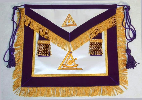 Past Thrice Illustrious Master Apron with Fringe