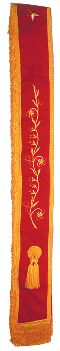 Royal-Matrons-Order-of-Amaranth-Sash-with-fringe-along-side-P3095.aspx