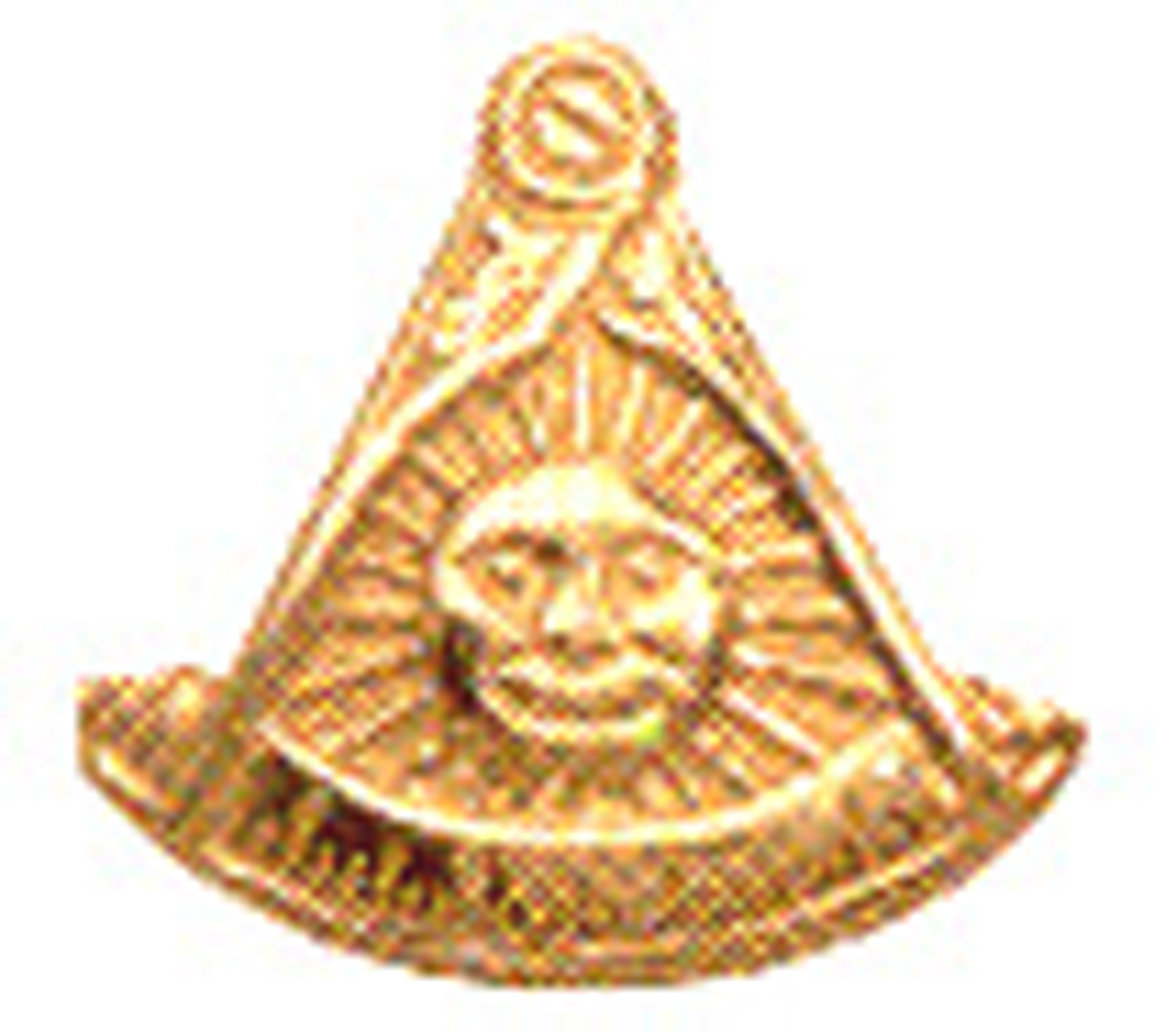Past Master Lapel Button in 10K YG