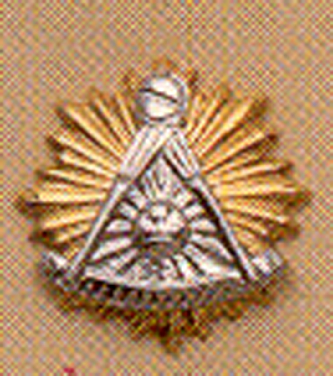 Past Master Lapel Button in 10K YG & WG