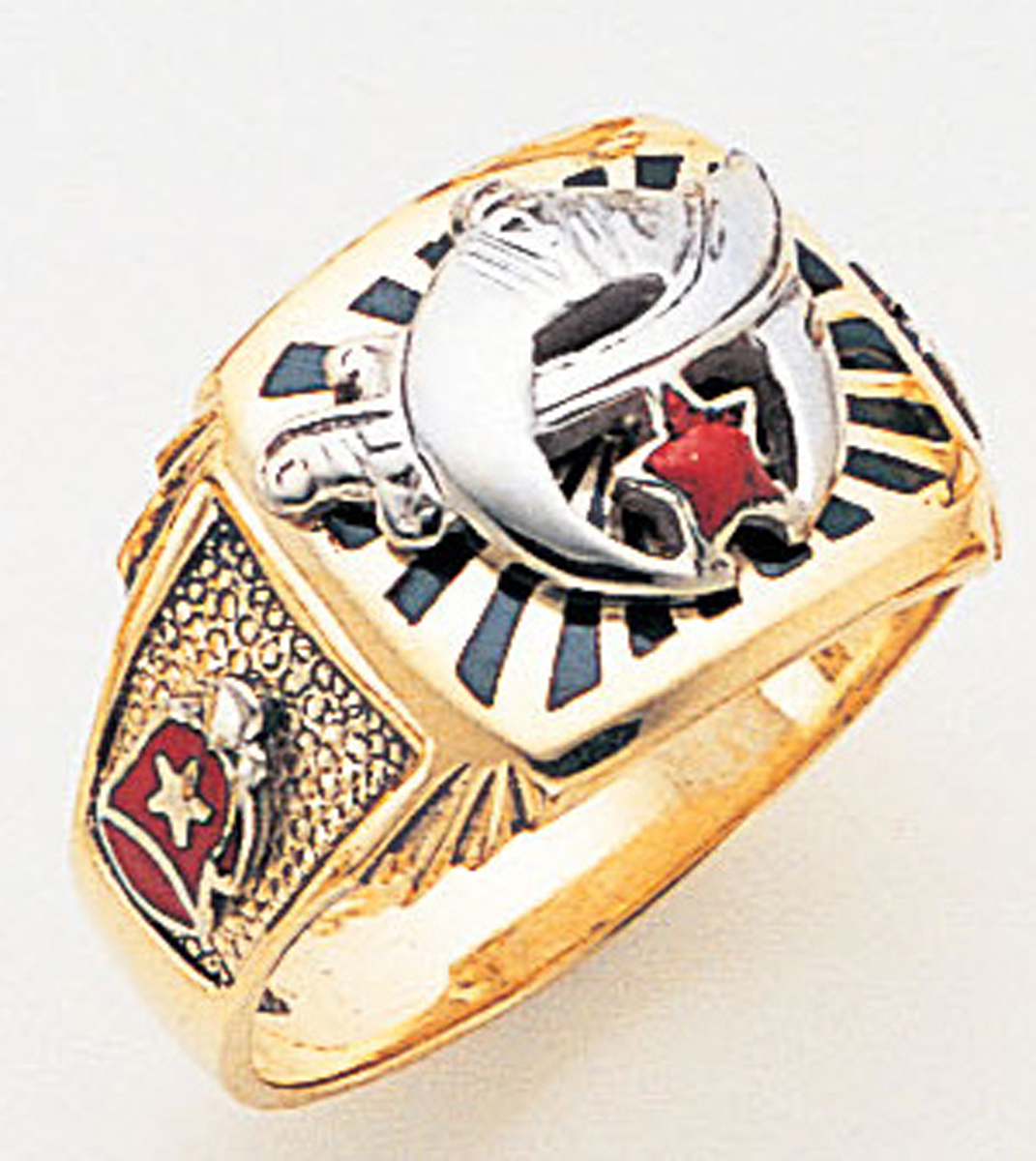 Masonic Shrine Ring Macoy Publishing Masonic Supply 3259