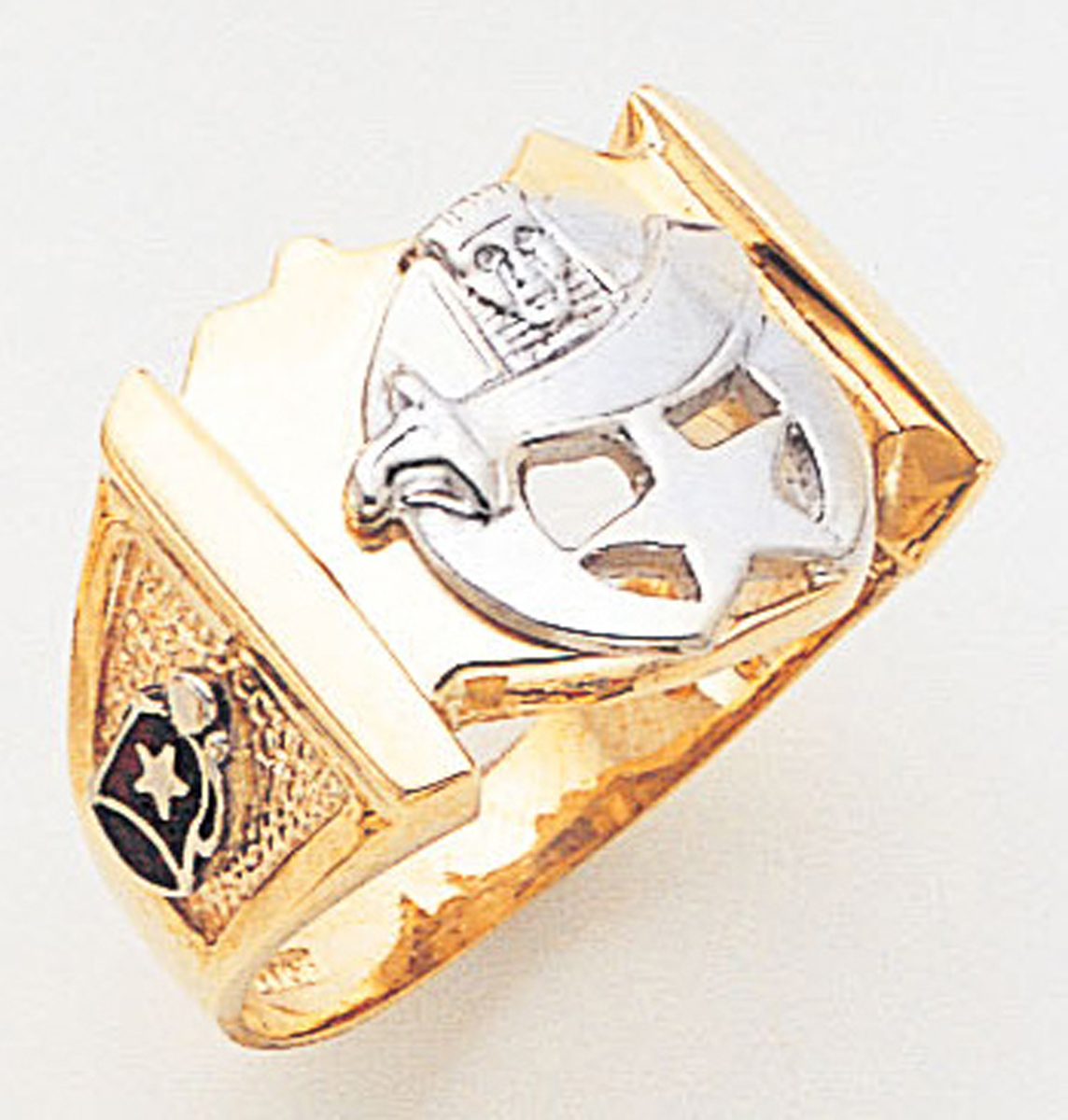 Masonic Shrine Ring Macoy Publishing Masonic Supply 3260