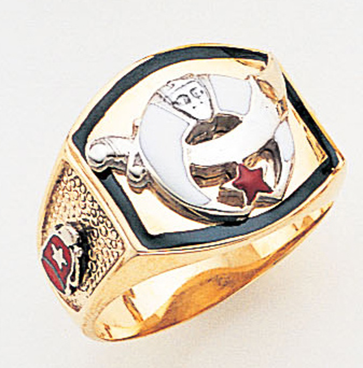 Masonic Shrine Ring Macoy Publishing Masonic Supply 3262