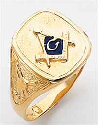 Masonic Ring Macoy Publishing Masonic Supply 3293BL