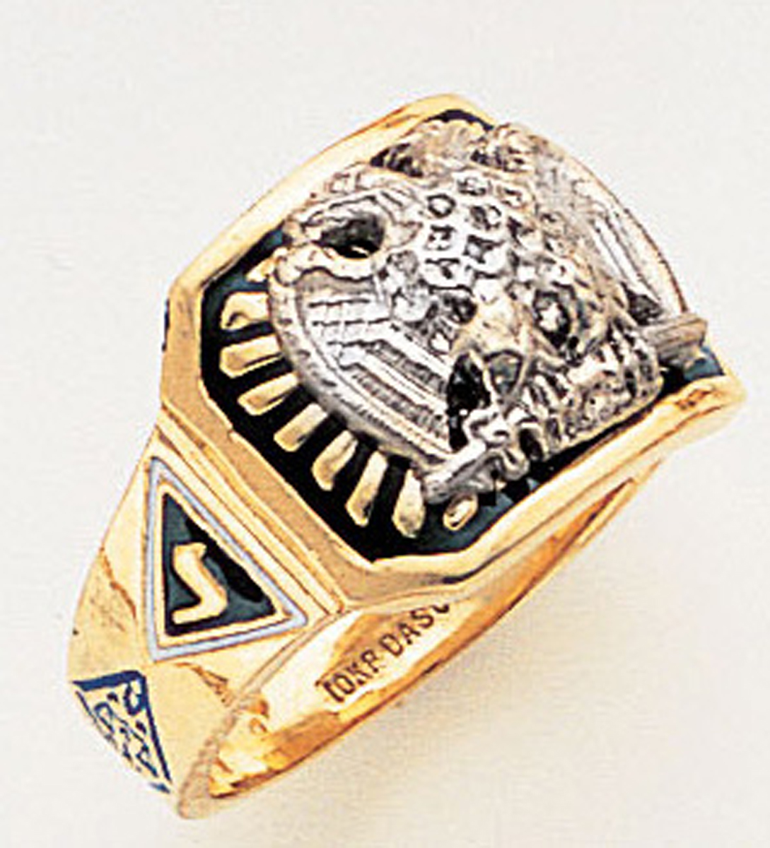 Masonic 32 Degree Scottish Rite Ring Macoy Publishing Masonic Supply 3369