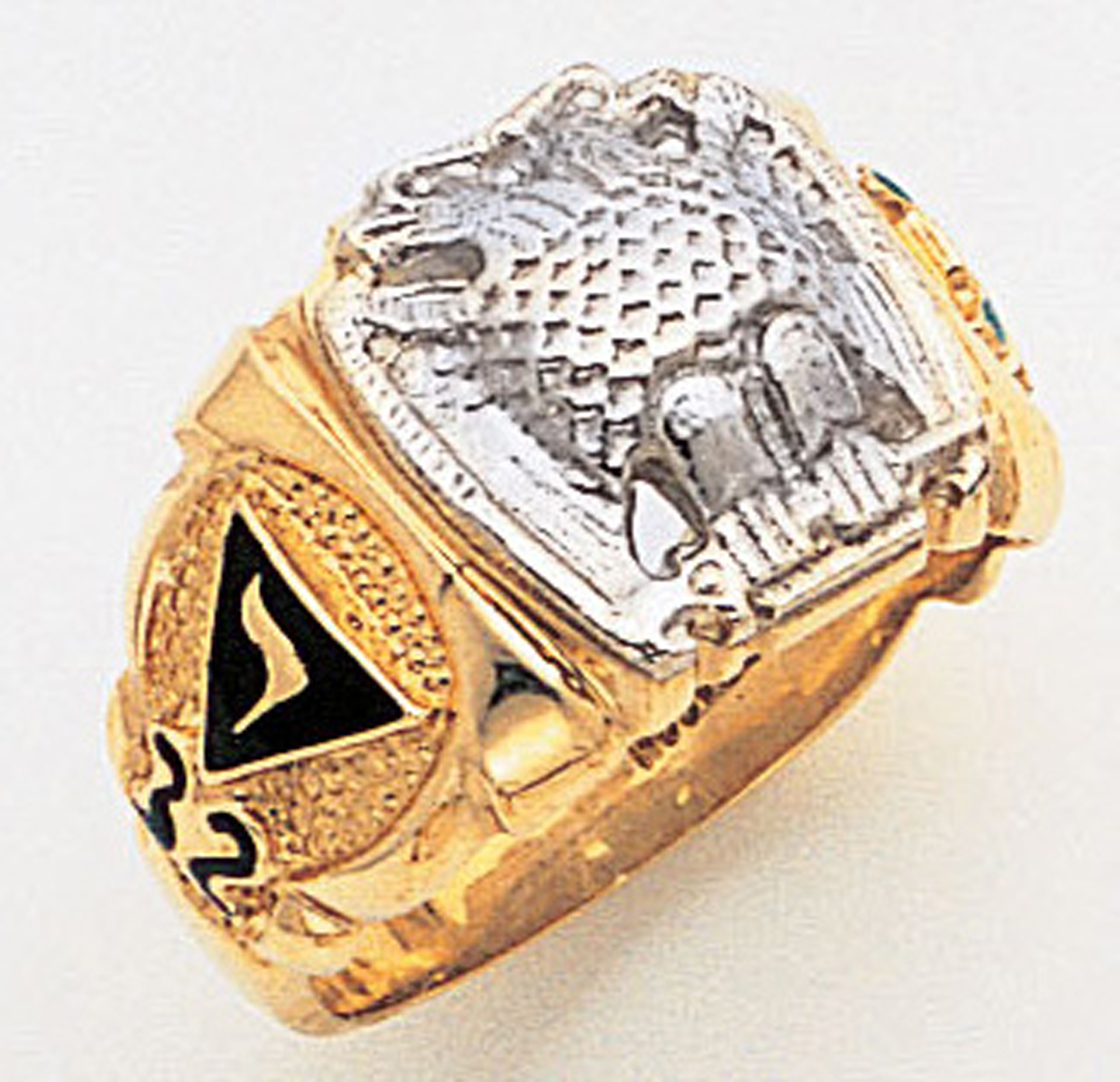 Masonic 32 Degree Scottish Rite Ring Macoy Publishing Masonic Supply 3375