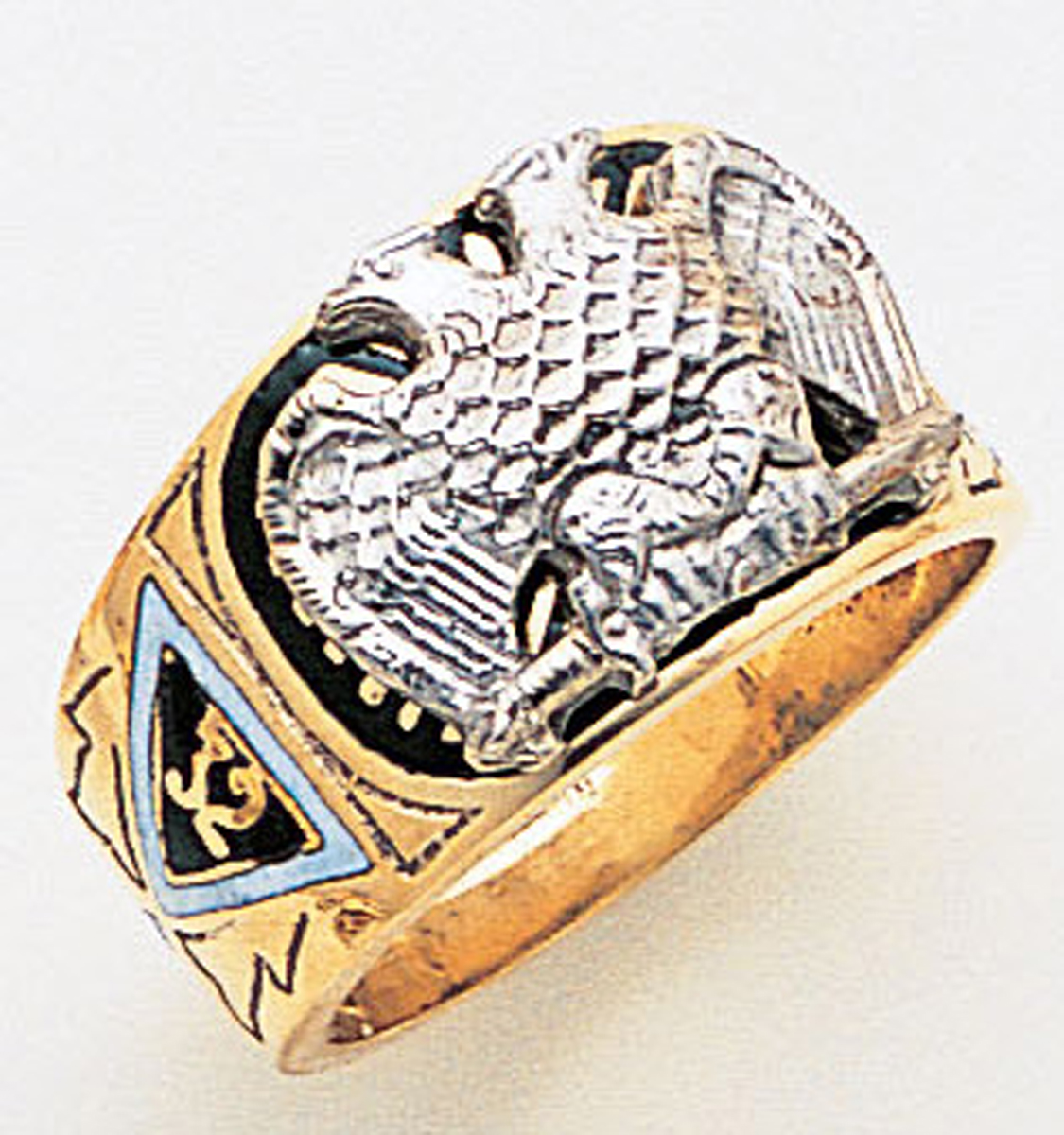Masonic 32 Degree Scottish Rite Ring Macoy Publishing Masonic Supply 3387