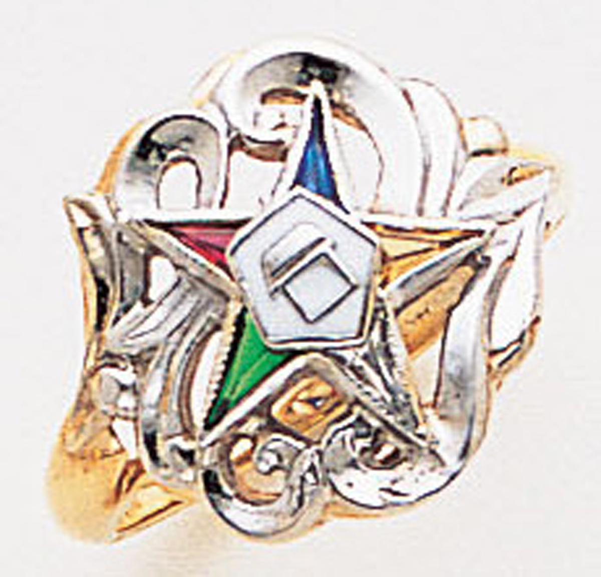Order of the Eastern Star Ring Macoy Publishing Masonic Supply 3392