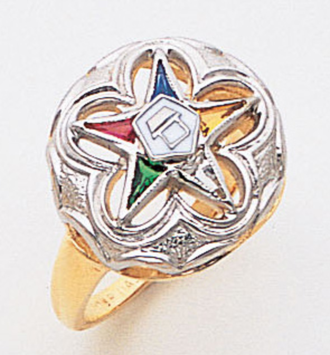 Order of the Eastern Star Ring Macoy Publishing Masonic Supply 3399