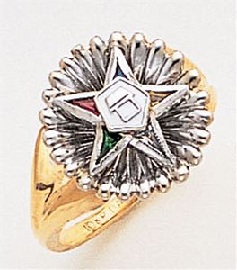 Order of the Eastern Star Ring Macoy Publishing Masonic Supply 3407