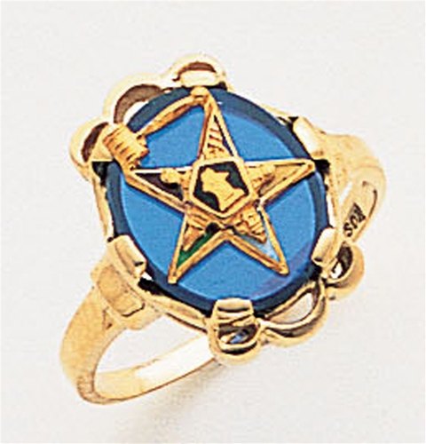 Order of the Eastern Star Ring Macoy Publishing Masonic Supply 3412