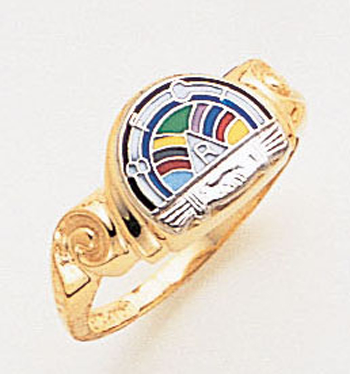 Rainbow Girls Ring Macoy Publishing Masonic Supply 3414