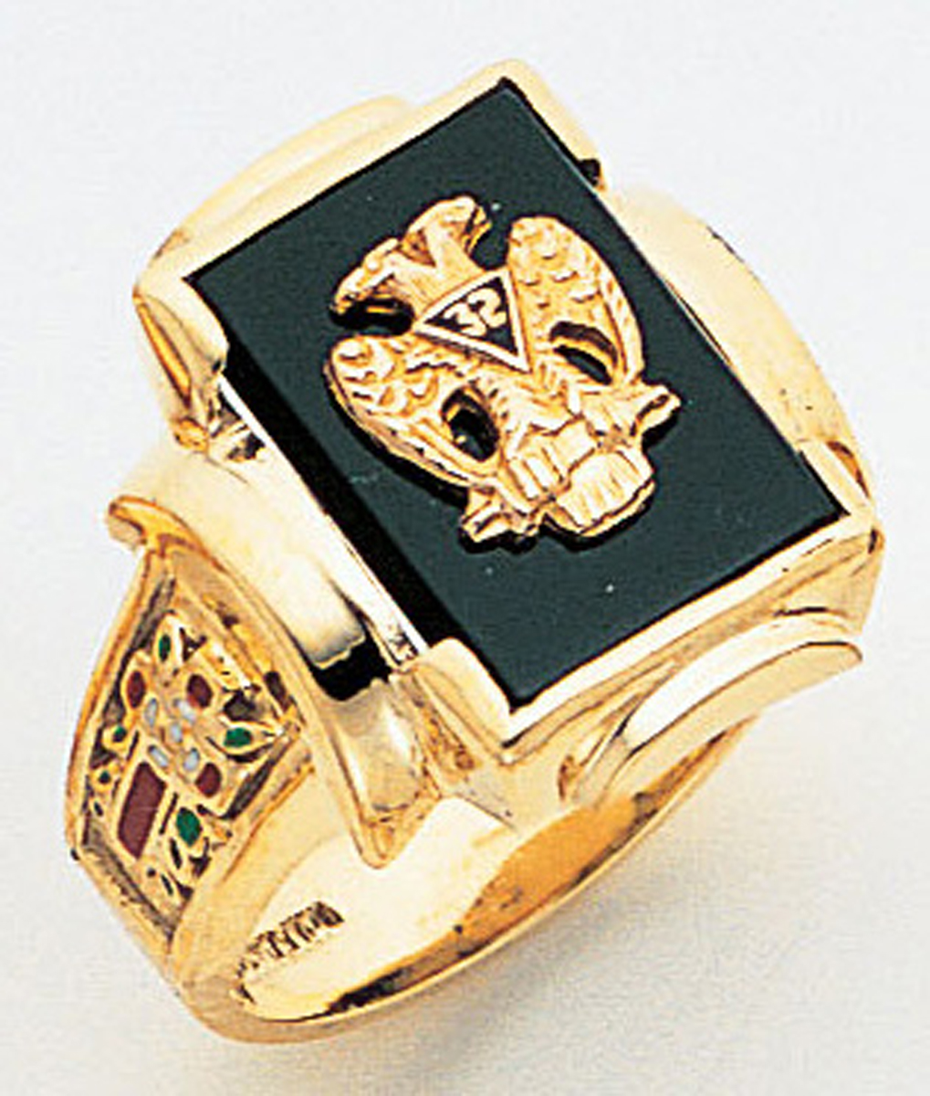 Masonic 32 Degree Scottish Rite Ring Macoy Publishing Masonic Supply 3420