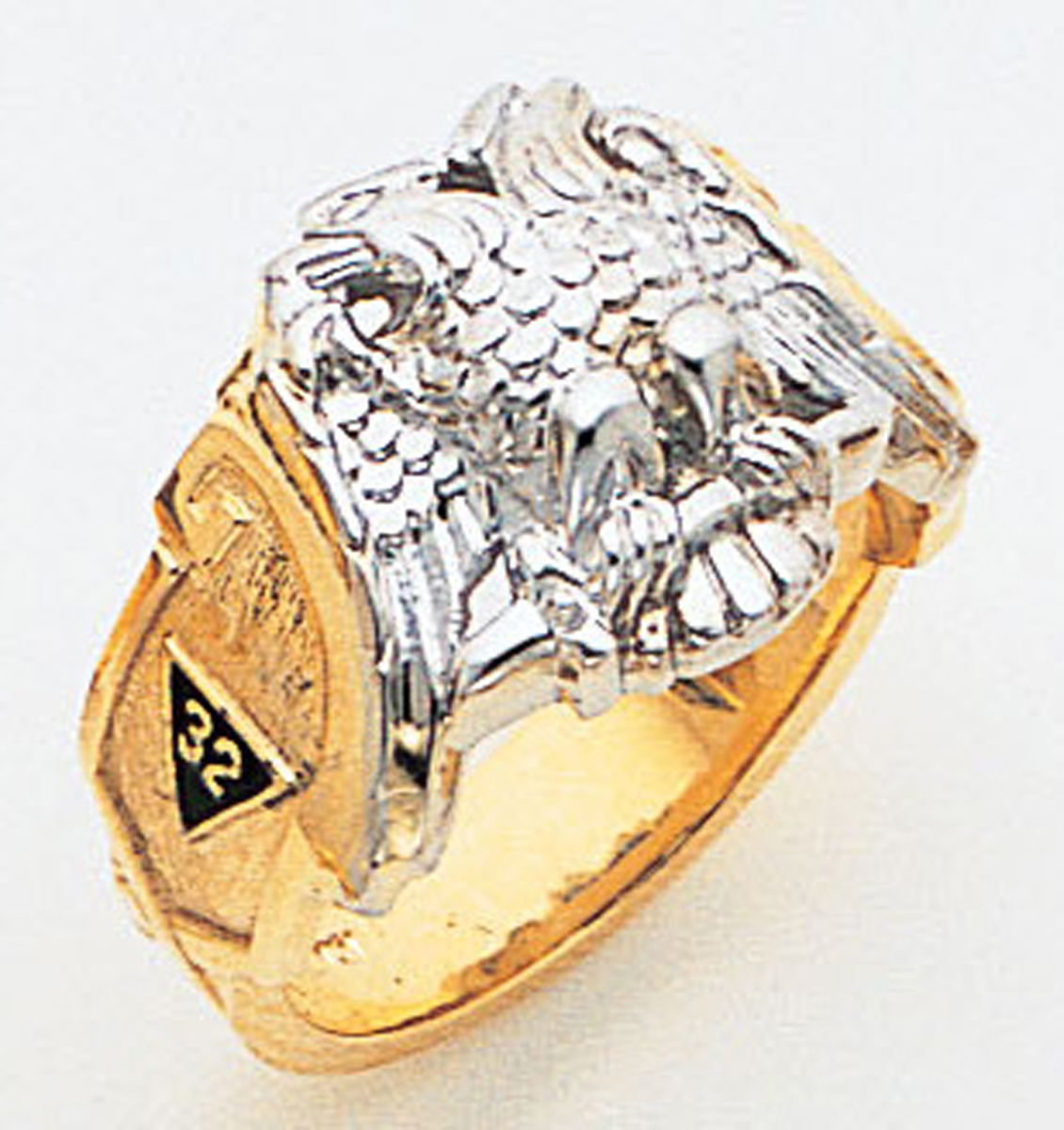 Masonic 32 Degree Scottish Rite Ring Macoy Publishing Masonic Supply 3421