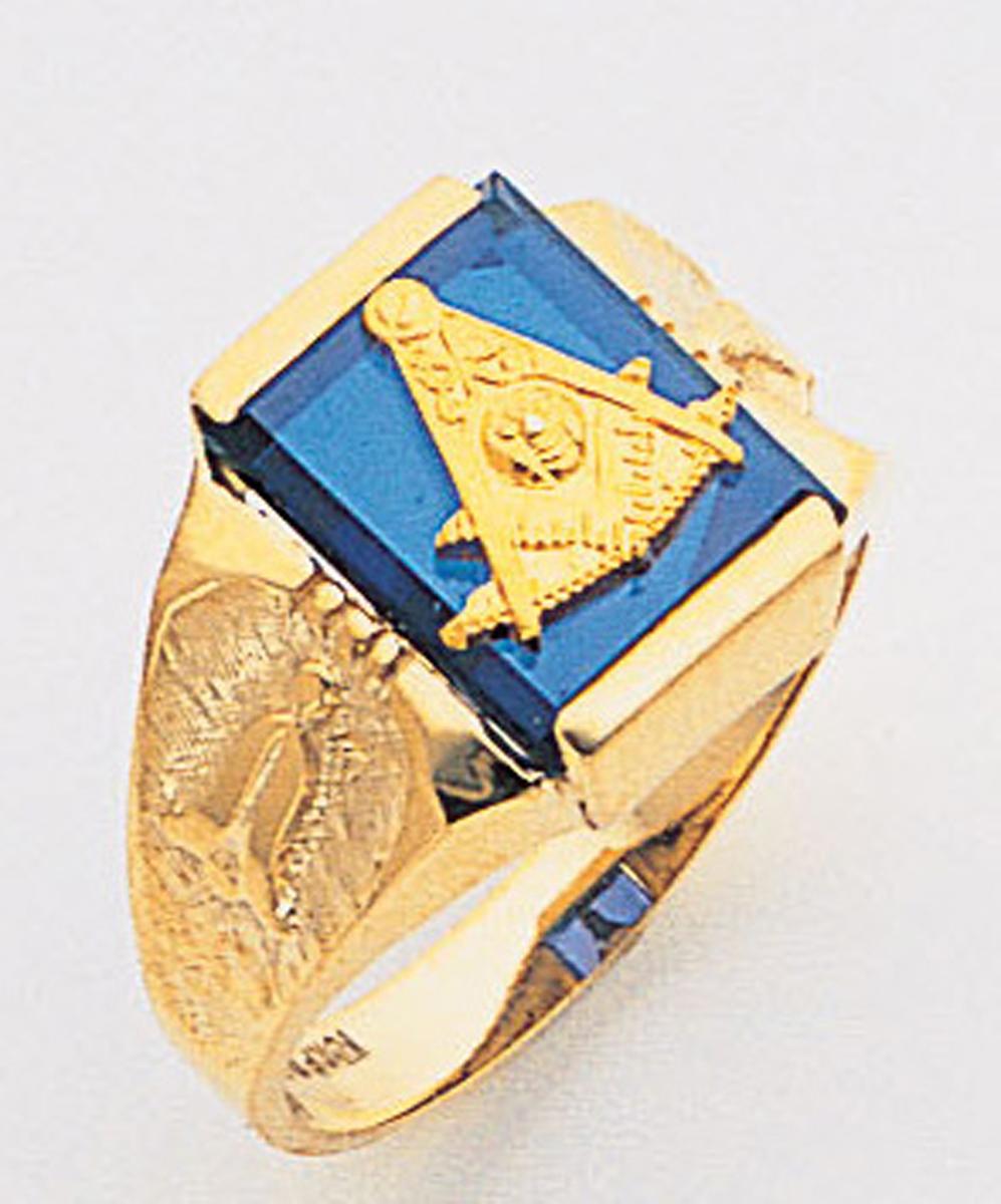 Past Master Ring Macoy Publishing Masonic Supply 5136SBL