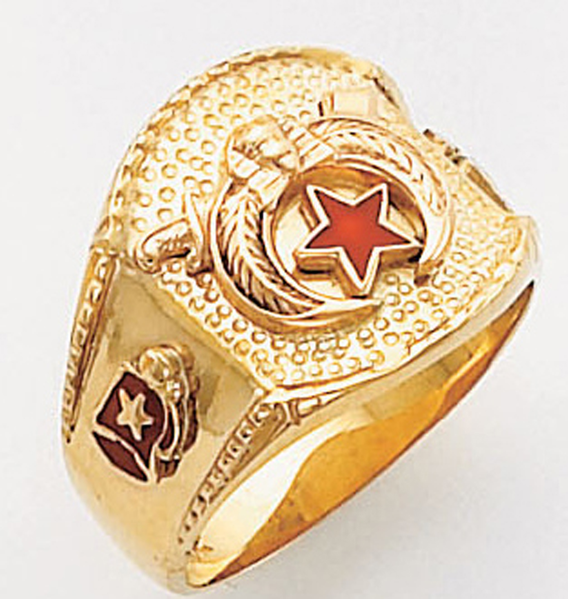 Masonic Shrine Ring Macoy Publishing Masonic Supply 5191SBL