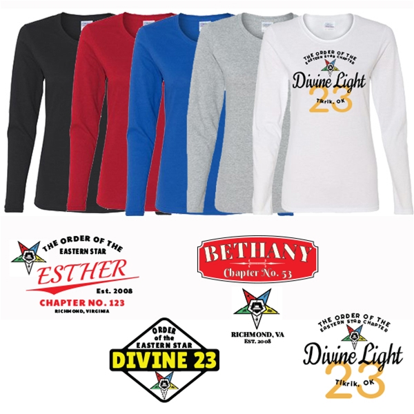 Eastern Star Long Sleeve Chapter Shirt