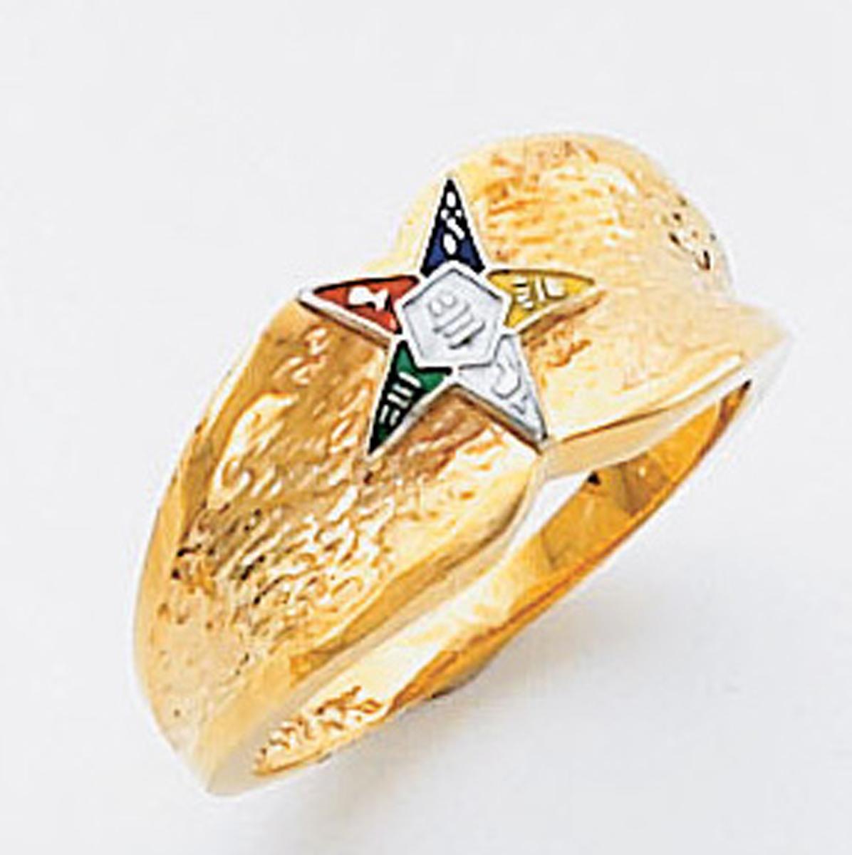 Order of the Eastern Star Ring Macoy Publishing Masonic Supply 5502